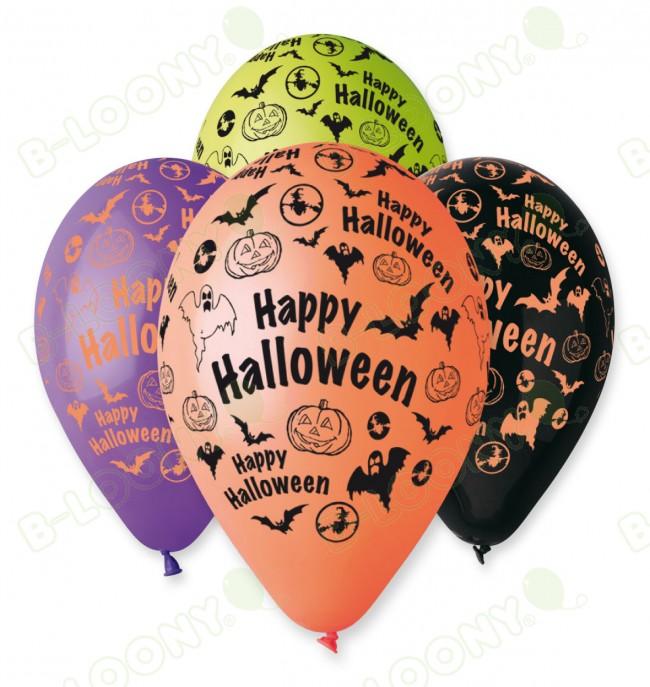 "25 X 12"" Happy Halloween Balloons"