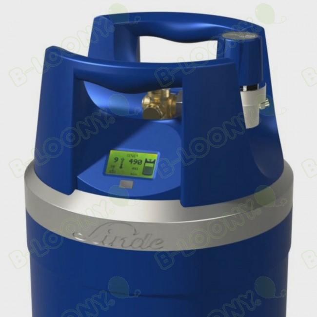Genie (G10) Helium Gas Cylinder with Digital Gauge (2 6m³)