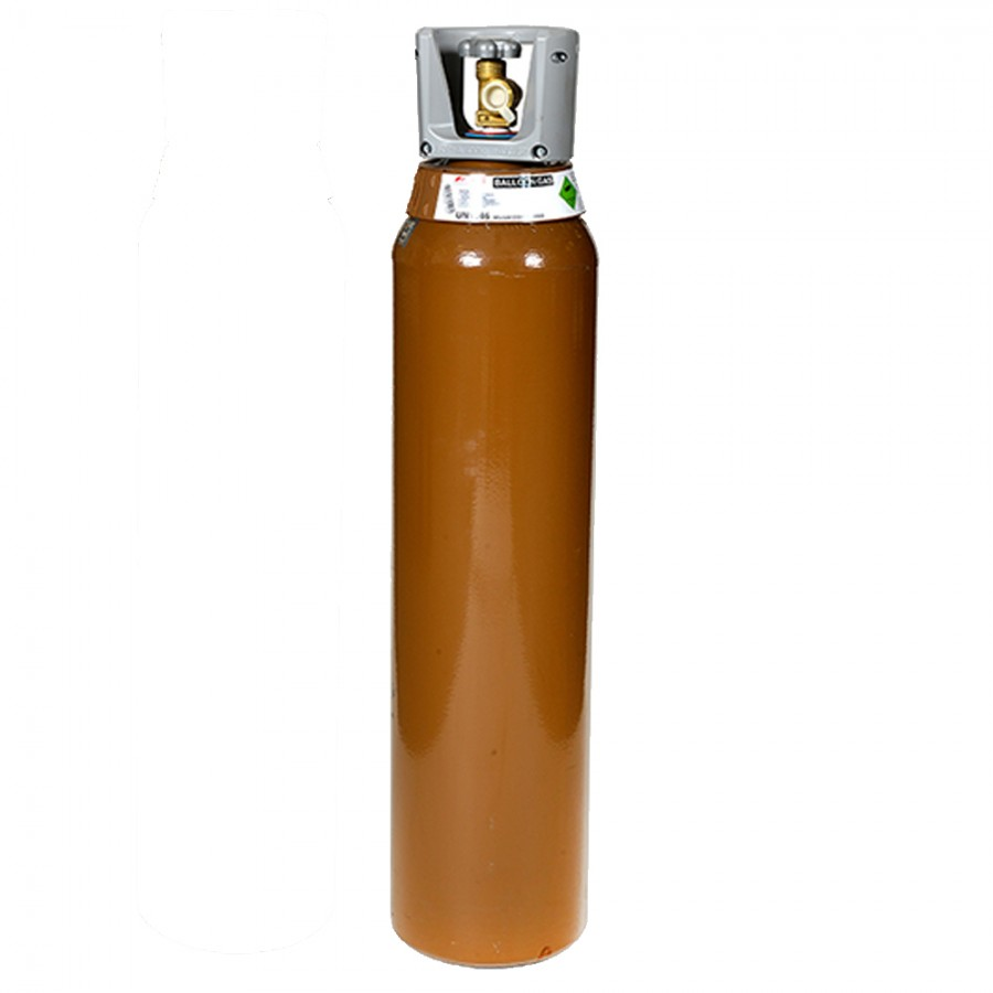X Large (L) BOC Helium Gas Cylinder (9.06m³) 