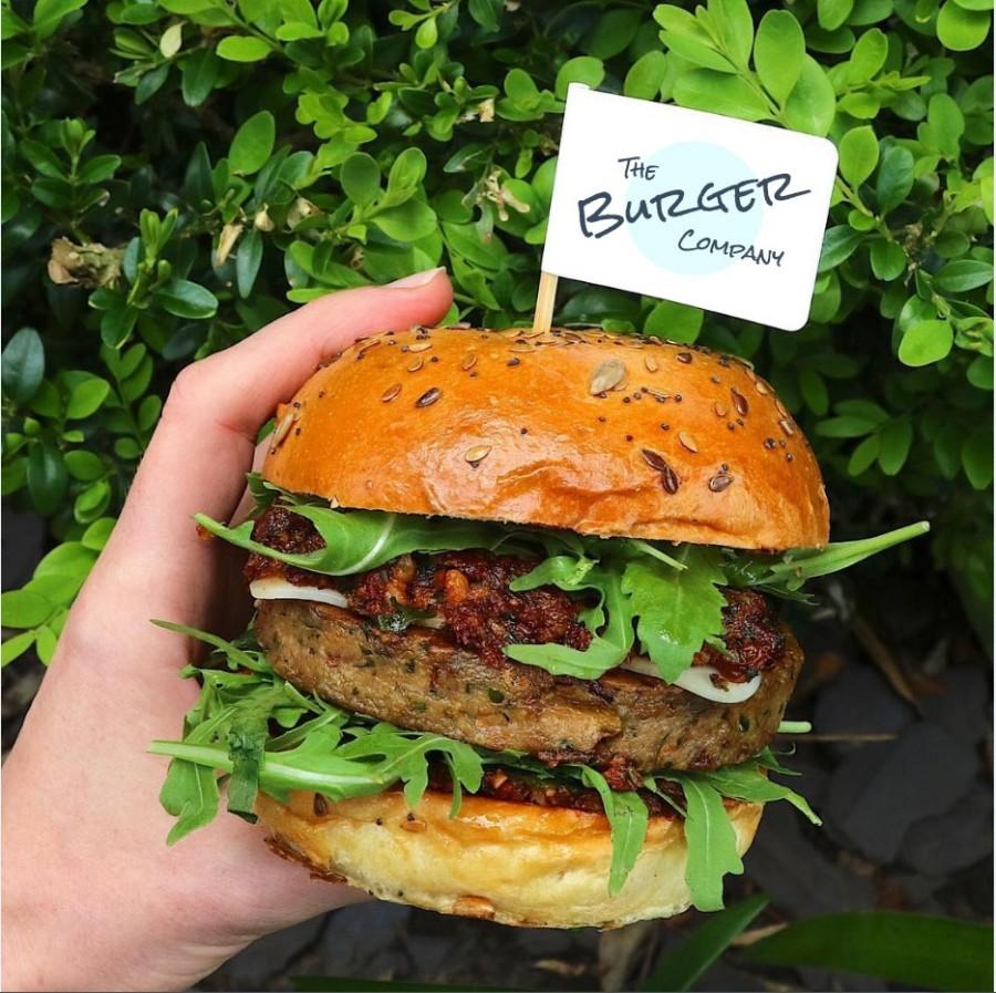 Custom Printed Burger Flags