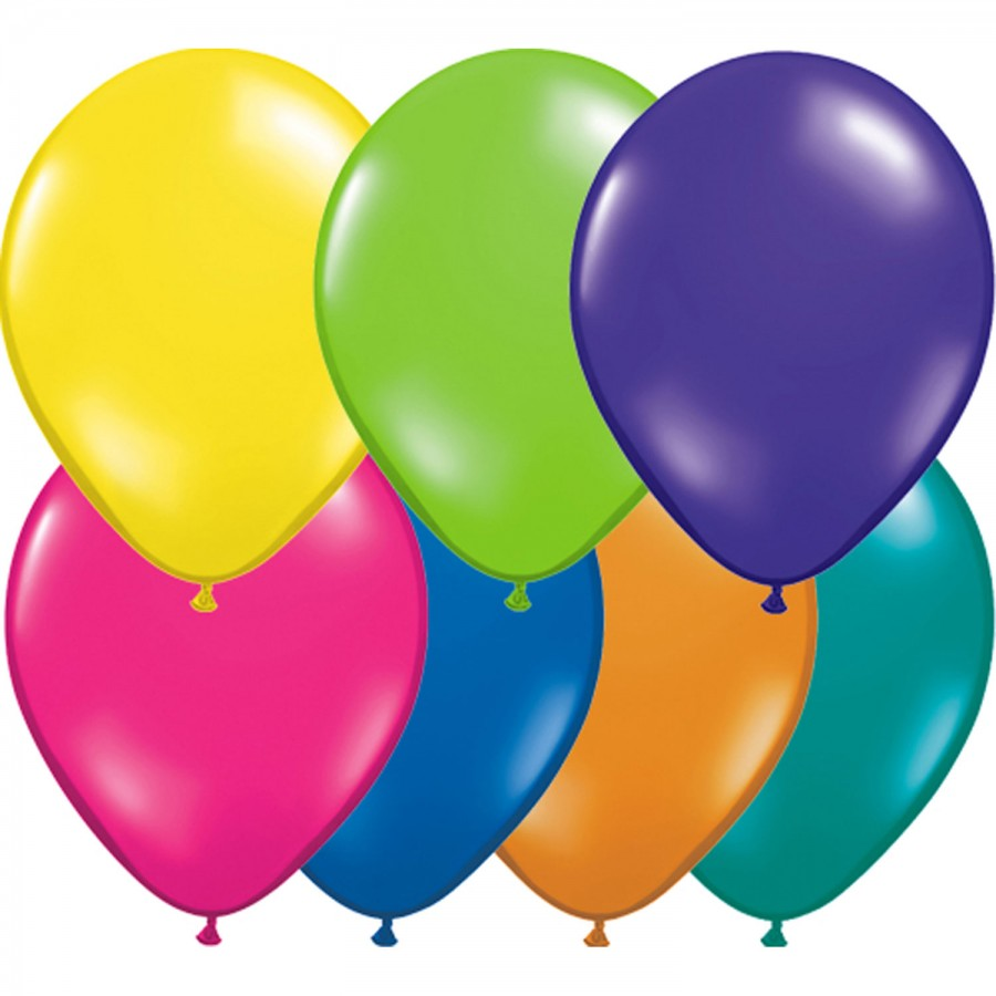 """5"""" Latex Balloon Fantasy Assorted (Pack of 100)"""