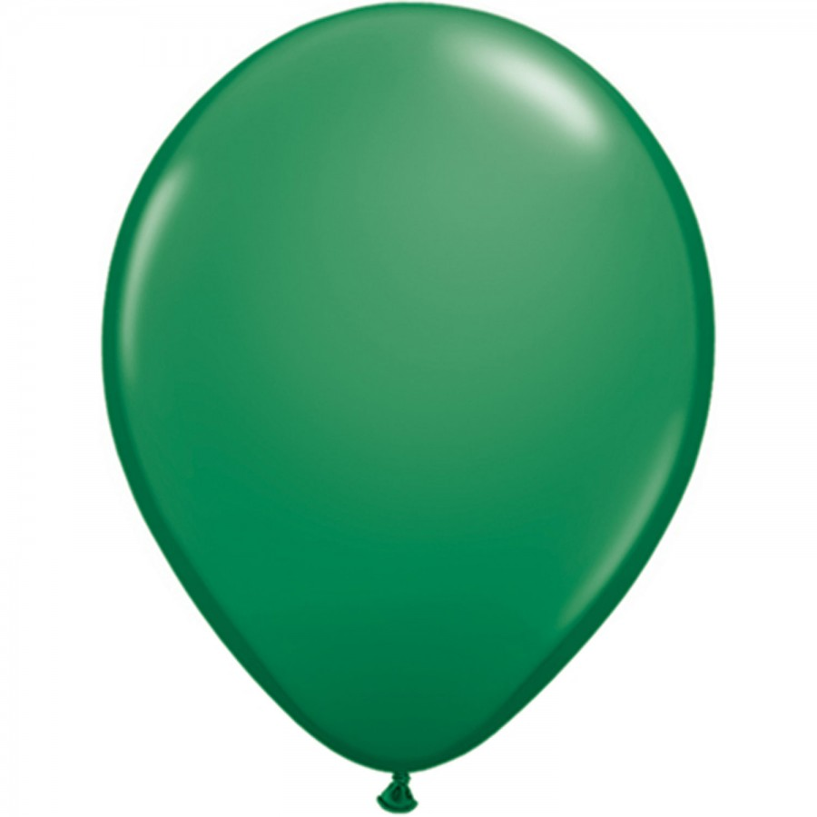 "5"" Latex Balloon Green (Pack of 100)"