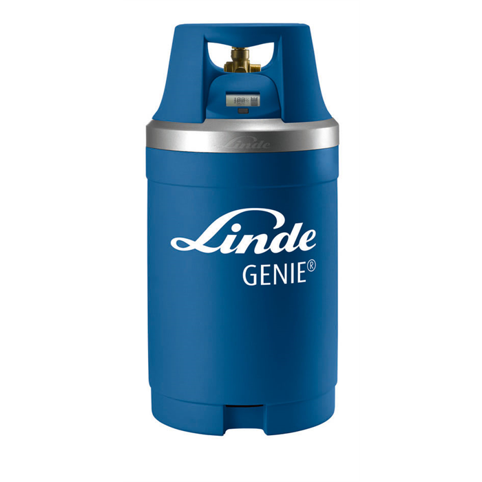 Genie (G10) Helium Gas Cylinder with Digital Gauge (2.6m³)