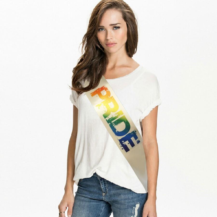 Custom Printed Pride Sash