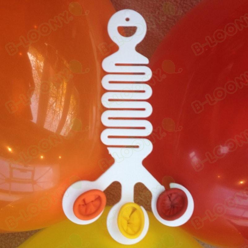 Corner Balloon Hanger for 3 Latex Balloons