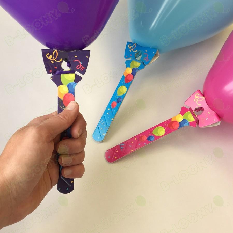 Cardboard Balloon Sticks