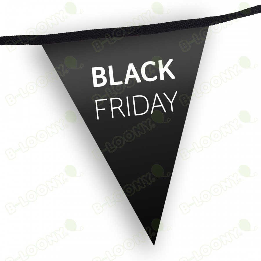 Black Friday Custom Printed Promotional Bunting