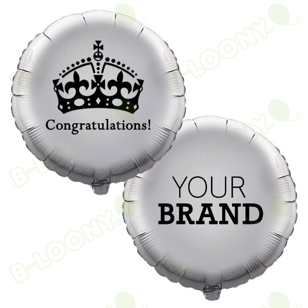 Branded Congratulations Royal Wedding Foil Balloons
