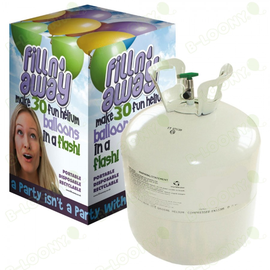D30 Disposable Helium Gas Canister