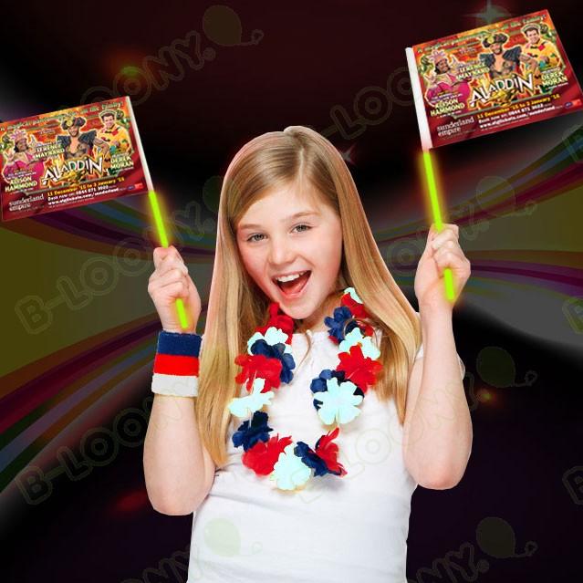 Glowflags - Glow-in-the-Dark Hand Waving Flags