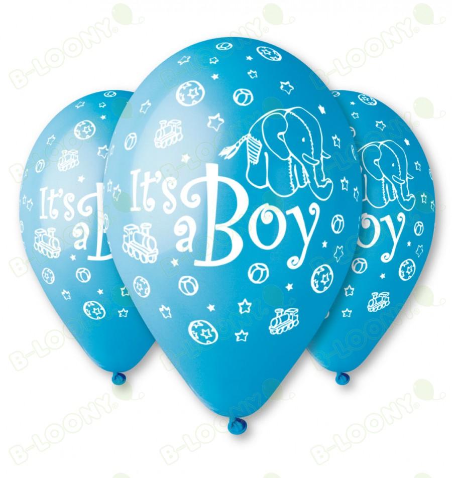 Blue It's a Boy Balloons