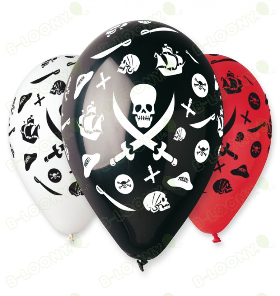 Assorted Pirate Balloons