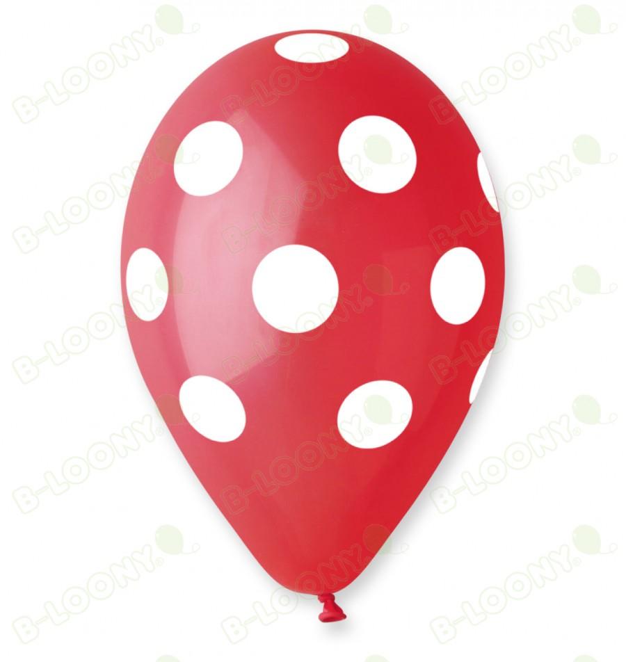 Red Polka Dot Balloons