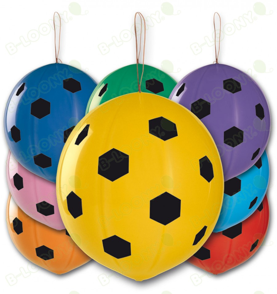 Polka Dot Punch Ball Balloons
