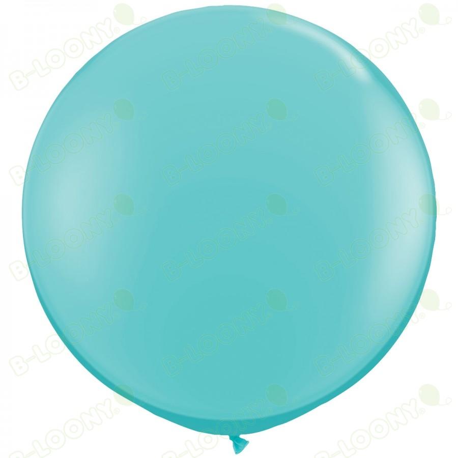 "36"" Caribbean Blue Giant Balloons (Pack of 2)"