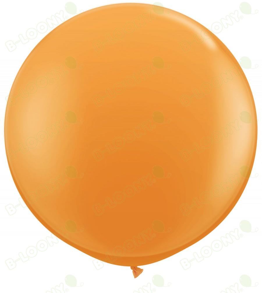 """36"""" Orange Giant Balloons (Pack of 2)"""