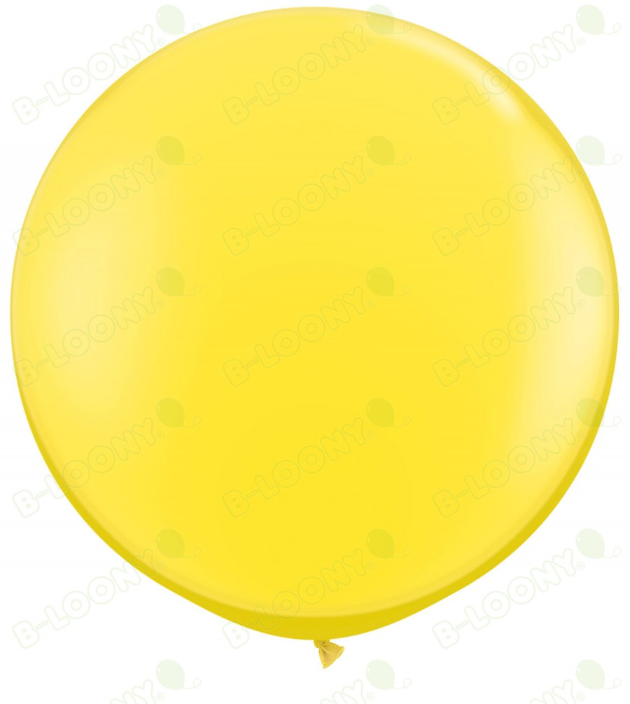"36"" Yellow Giant Balloons (Pack of 2)"