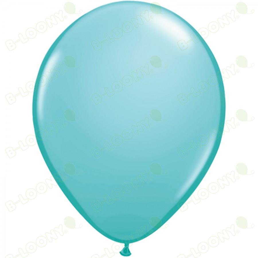 "5"" Latex Balloon Caribbean Blue (Pack of 100)"