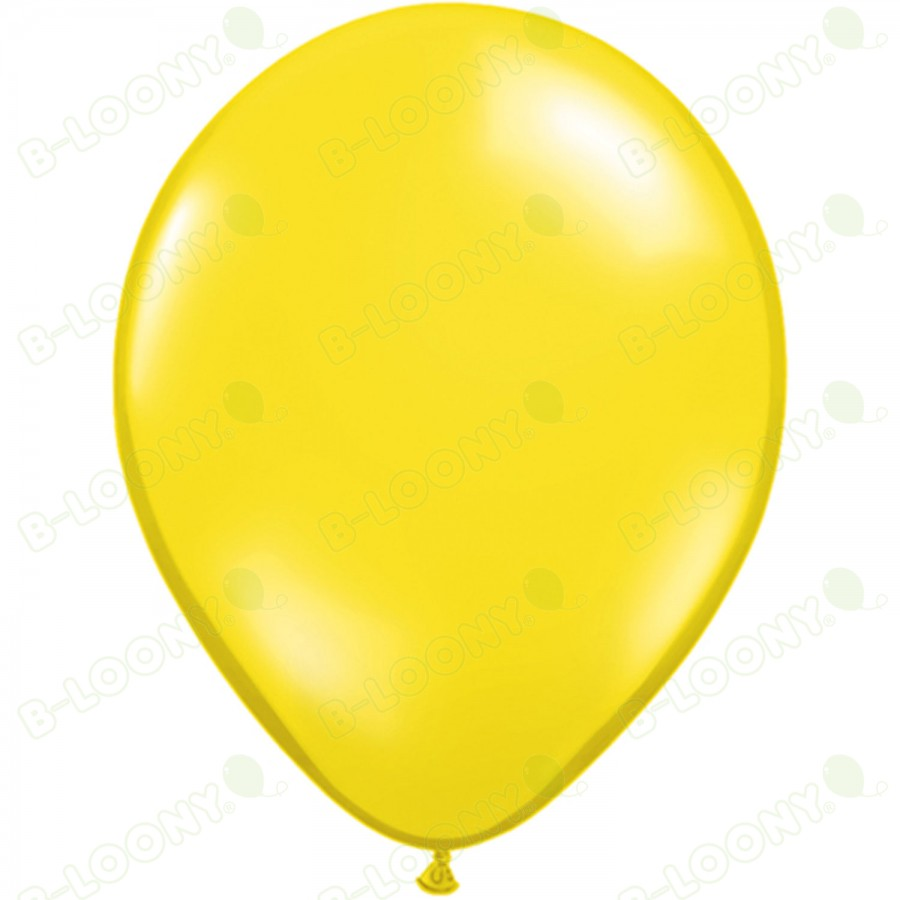 "5"" Latex Balloon Citrine Yellow (Pack of 100)"