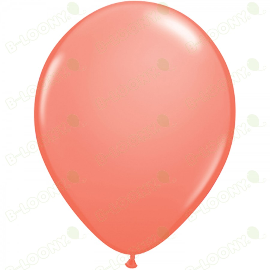 "5"" Latex Balloon Coral (Pack of 100)"