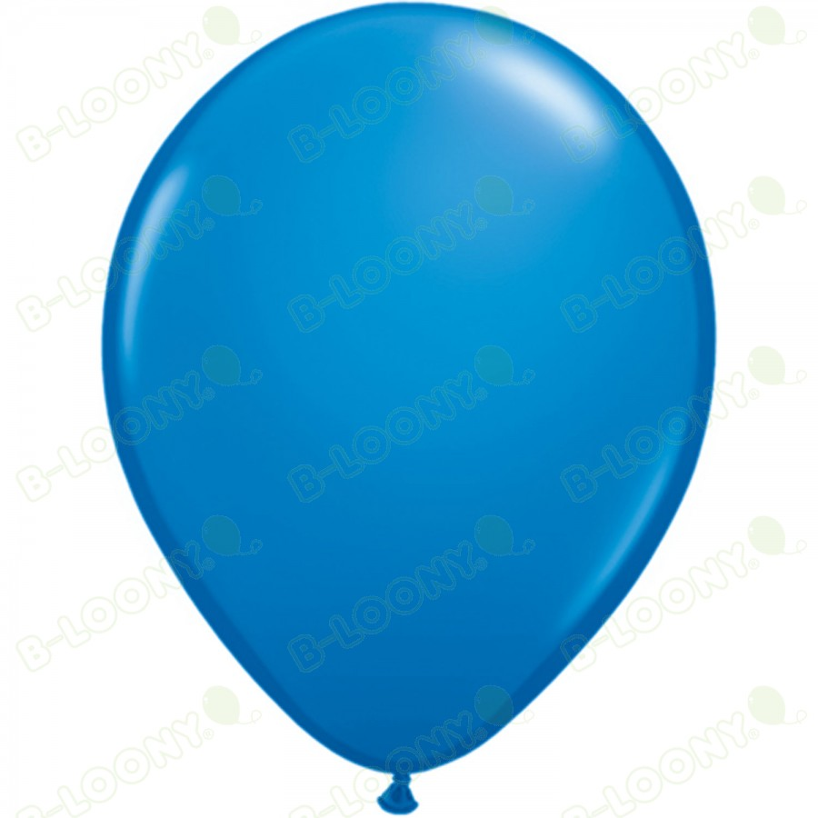 "5"" Latex Balloon Dark Blue (Pack of 100)"
