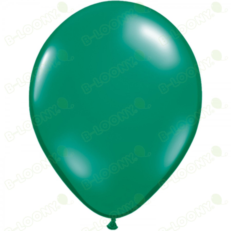 "5"" Latex Balloon Emerald Green (Pack of 100)"