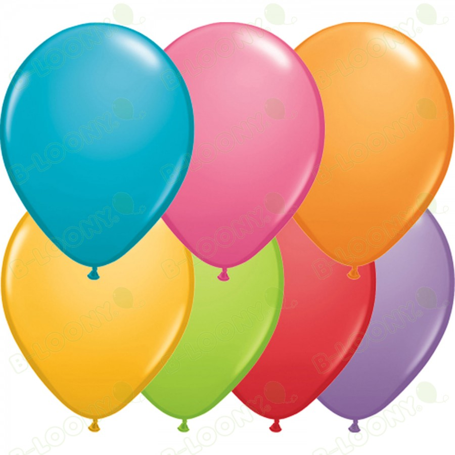 """5"""" Latex Balloon Festive Assorted (Pack of 100)"""