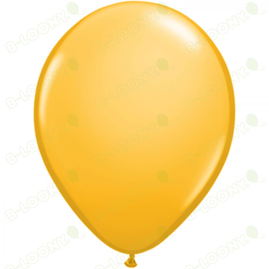 "5"" Latex Balloon Goldenrod (Pack of 100)"