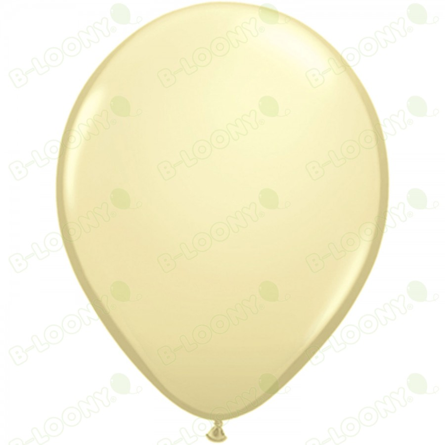 "5"" Latex Balloon Ivory Silk (Pack of 100)"