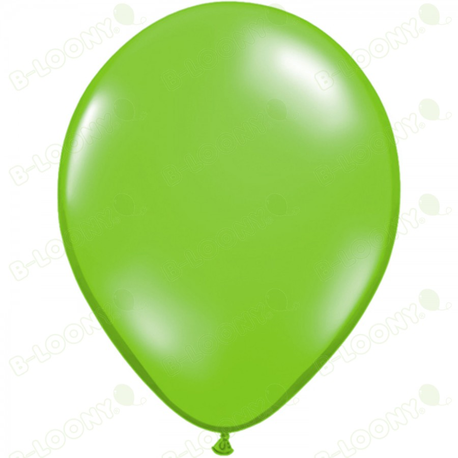 """5"""" Latex Balloon Jewel Lime (Pack of 100)"""