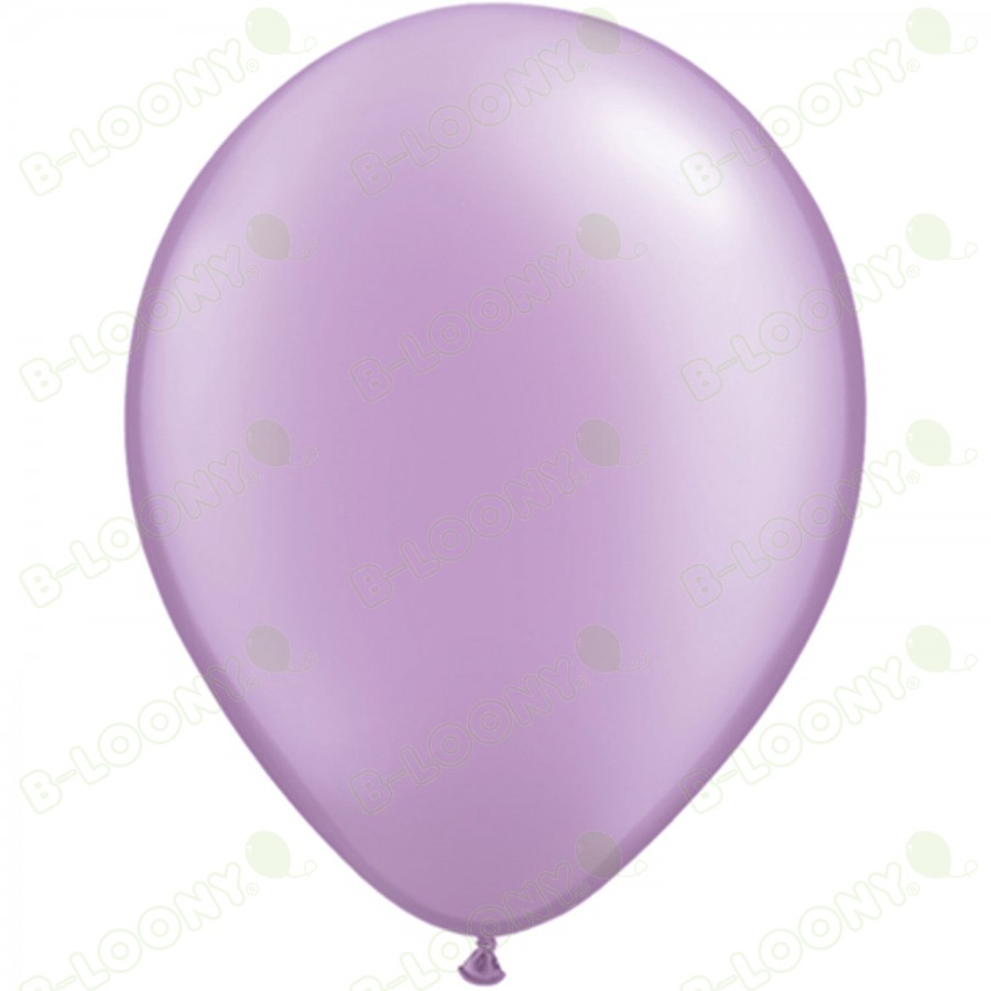 """5"""" Latex Balloon Pearl Lavender (Pack of 100)"""