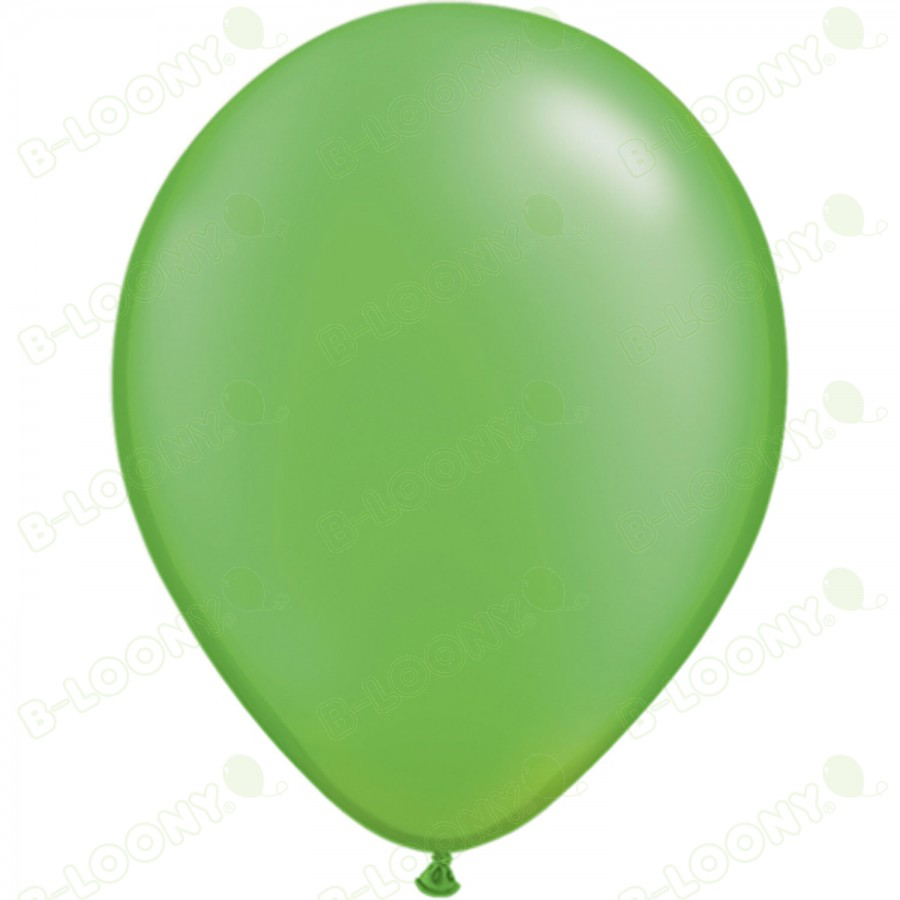 """5"""" Latex Balloon Pearl Lime Green (Pack of 100)"""