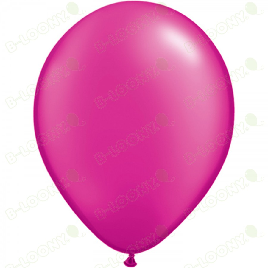 "5"" Latex Balloon Pearl Magenta (Pack of 100)"
