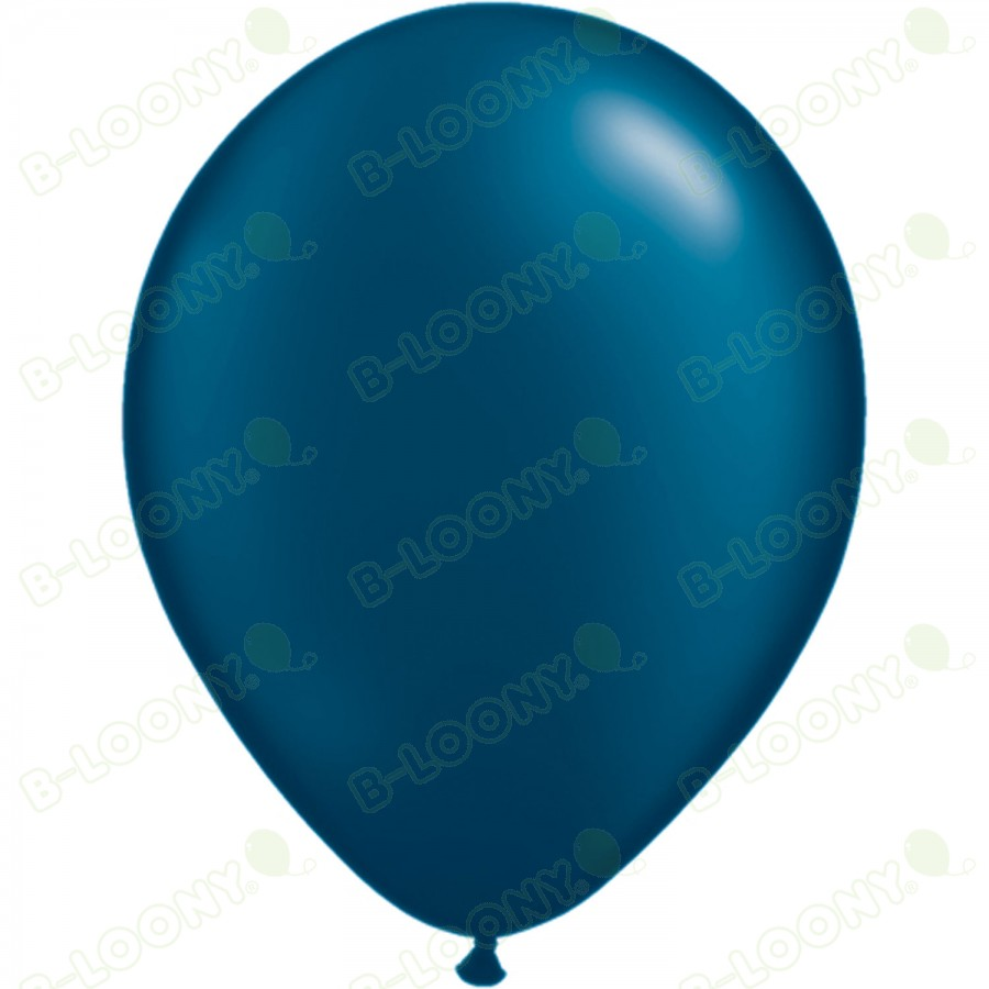 """5"""" Latex Balloon Pearl Midnight Blue (Pack of 100)"""