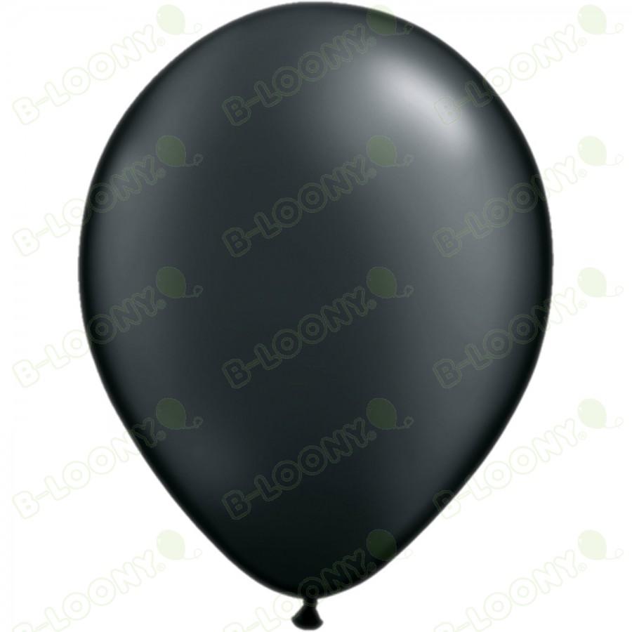 "5"" Latex Balloon Pearl Onyx Black (Pack of 100)"