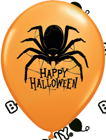 11 Inch Latex Balloons Halloween Spider