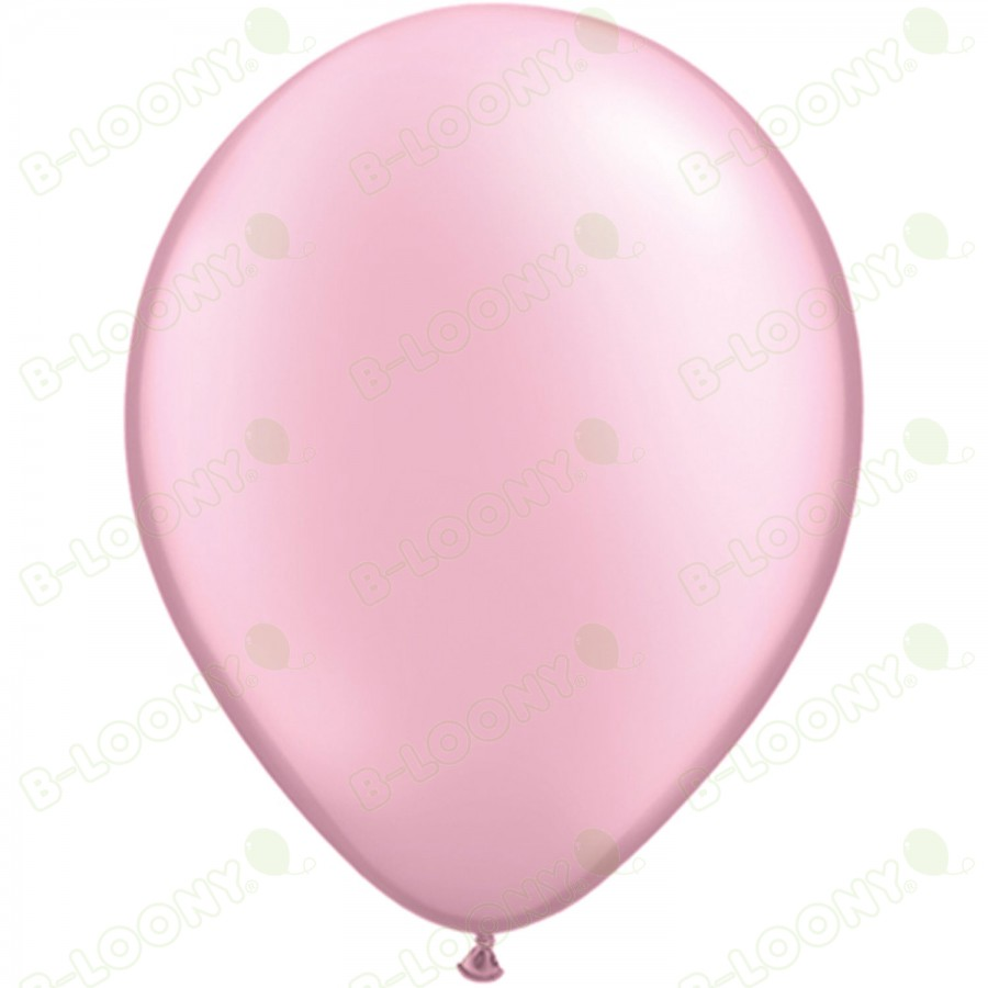 "5"" Latex Balloon Pearl Pink (Pack of 100)"