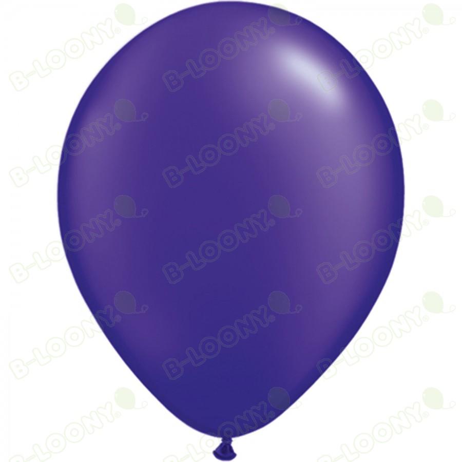 "5"" Latex Balloon Pearl Quartz Purple (Pack of 100)"