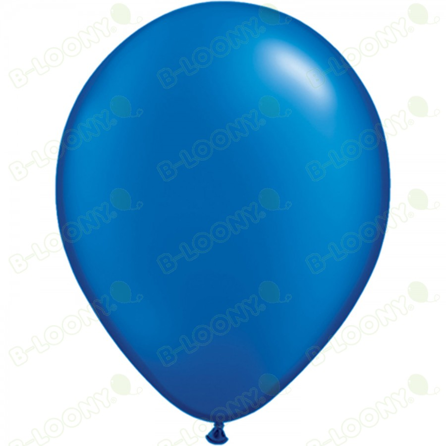 """5"""" Latex Balloon Pearl Sapphire Blue (Pack of 100)"""