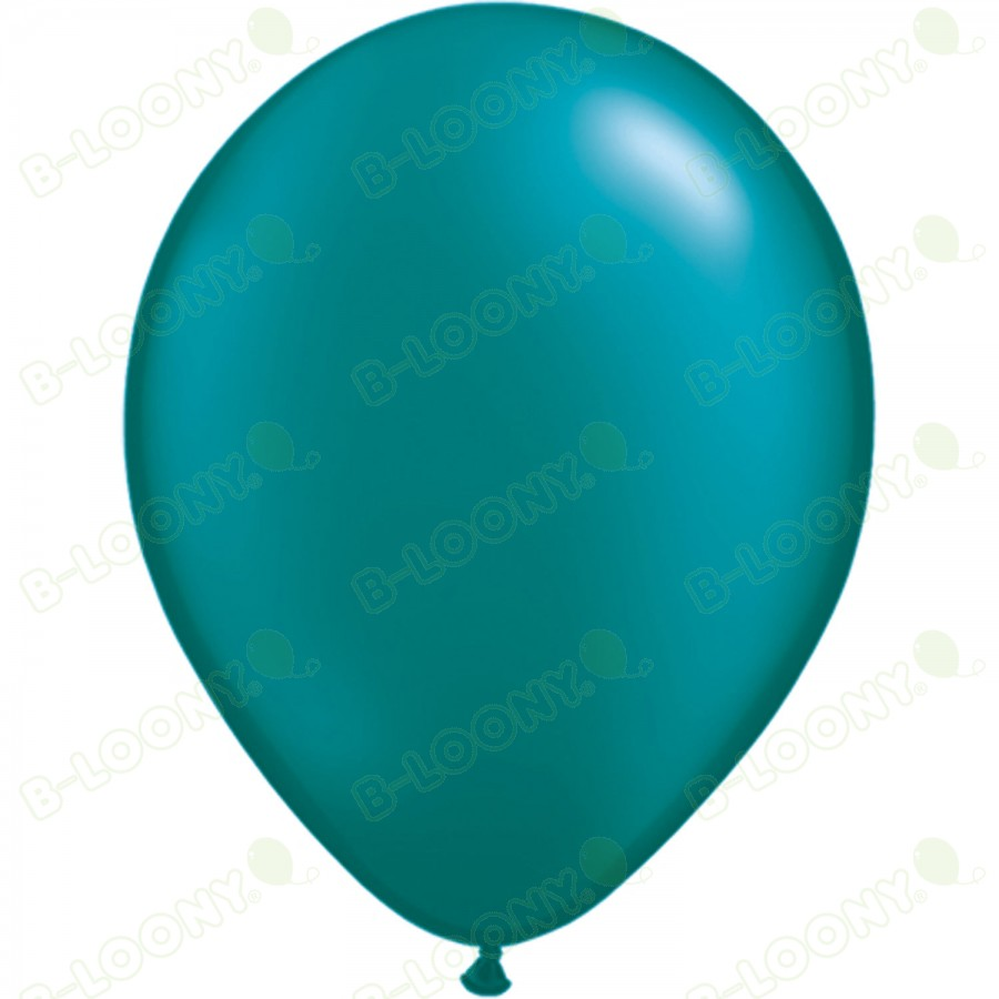 """5"""" Latex Balloon Pearl Teal (Pack of 100)"""