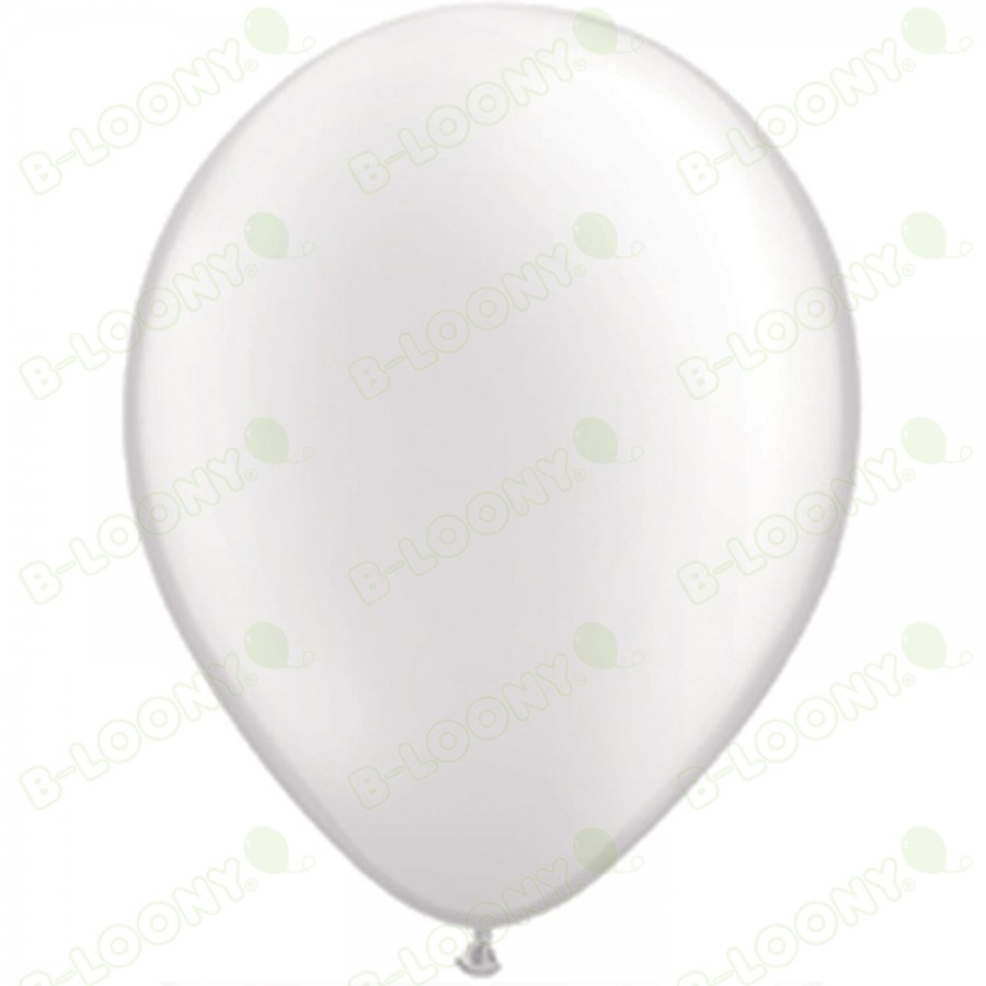 """5"""" Latex Balloon Pearl White (Pack of 100)"""