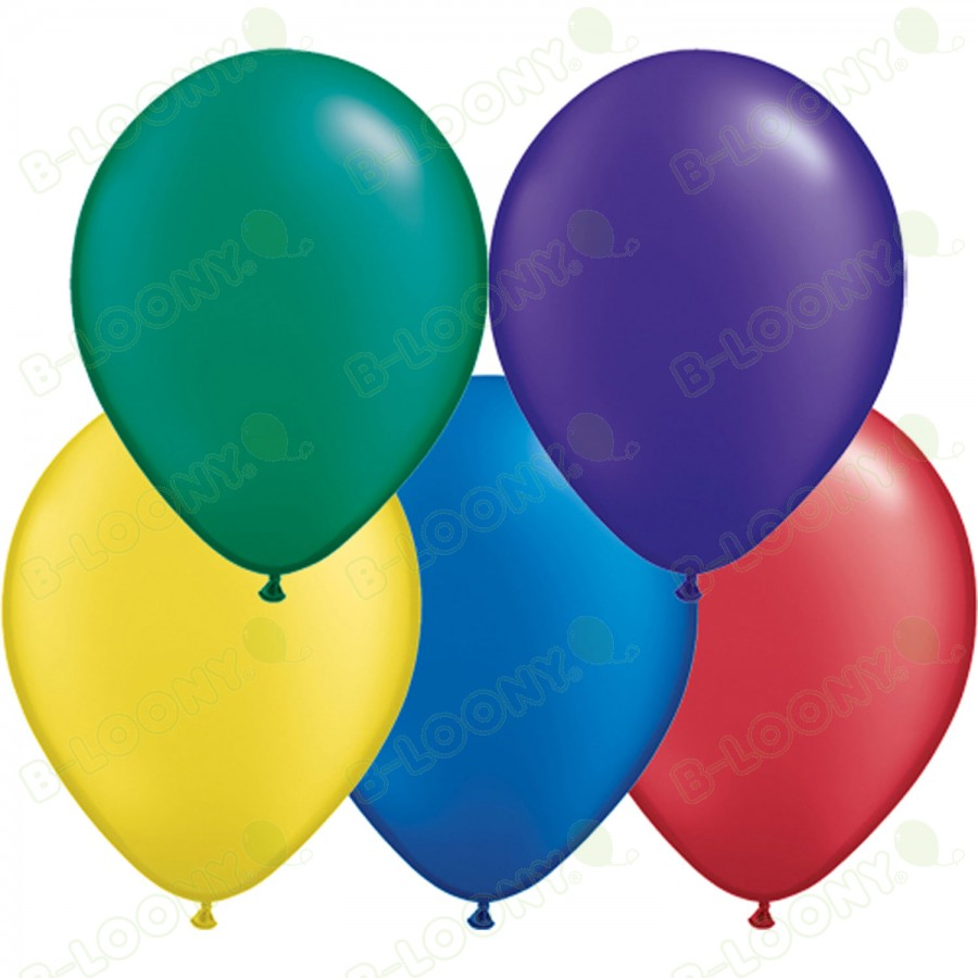 """5"""" Latex Balloon Radiant Pearl Assorted (Pack of 100)"""