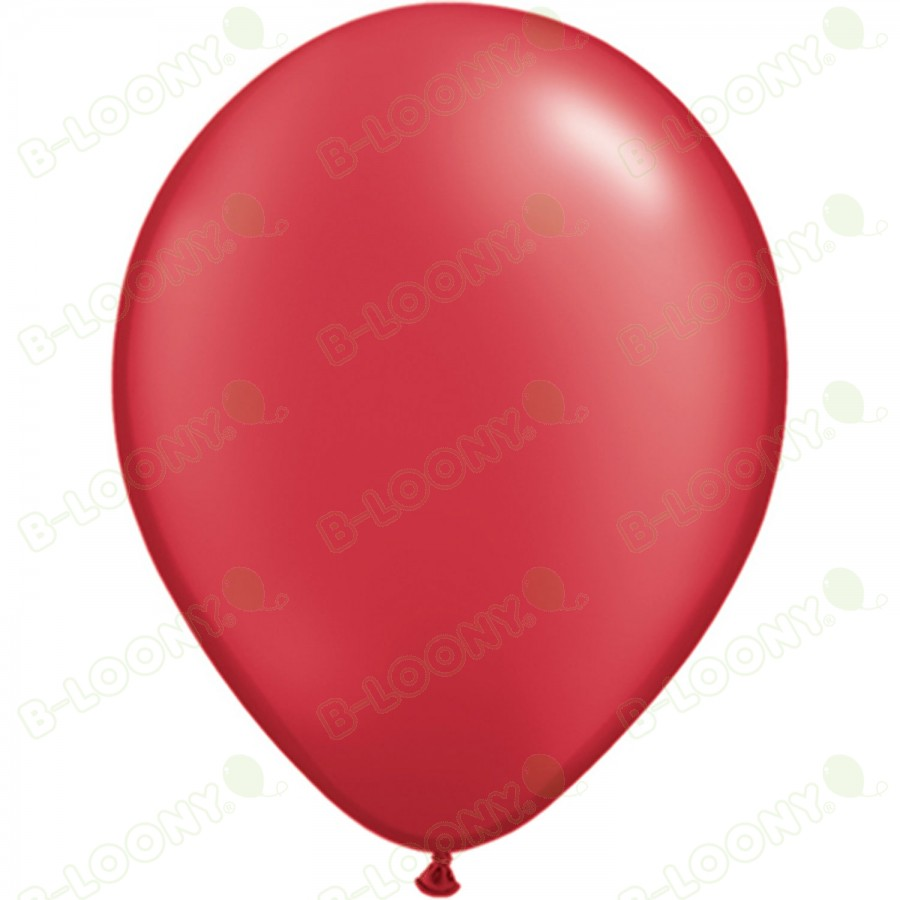 """5"""" Latex Balloon Ruby Red (Pack of 100)"""