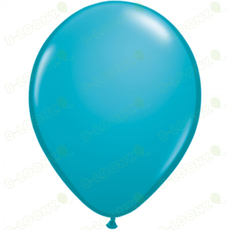"""5"""" Latex Balloon Tropical Teal (Pack of 100)"""