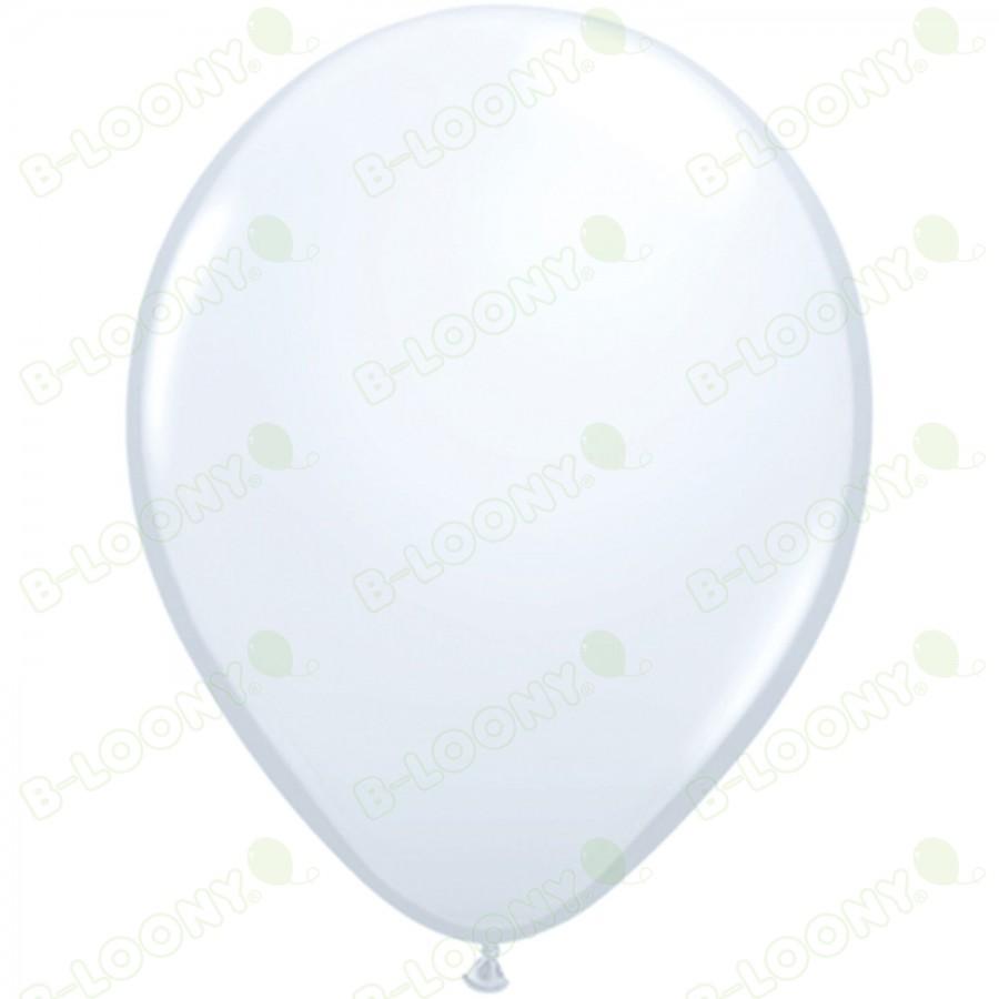 "5"" Latex Balloon White (Pack of 100)"