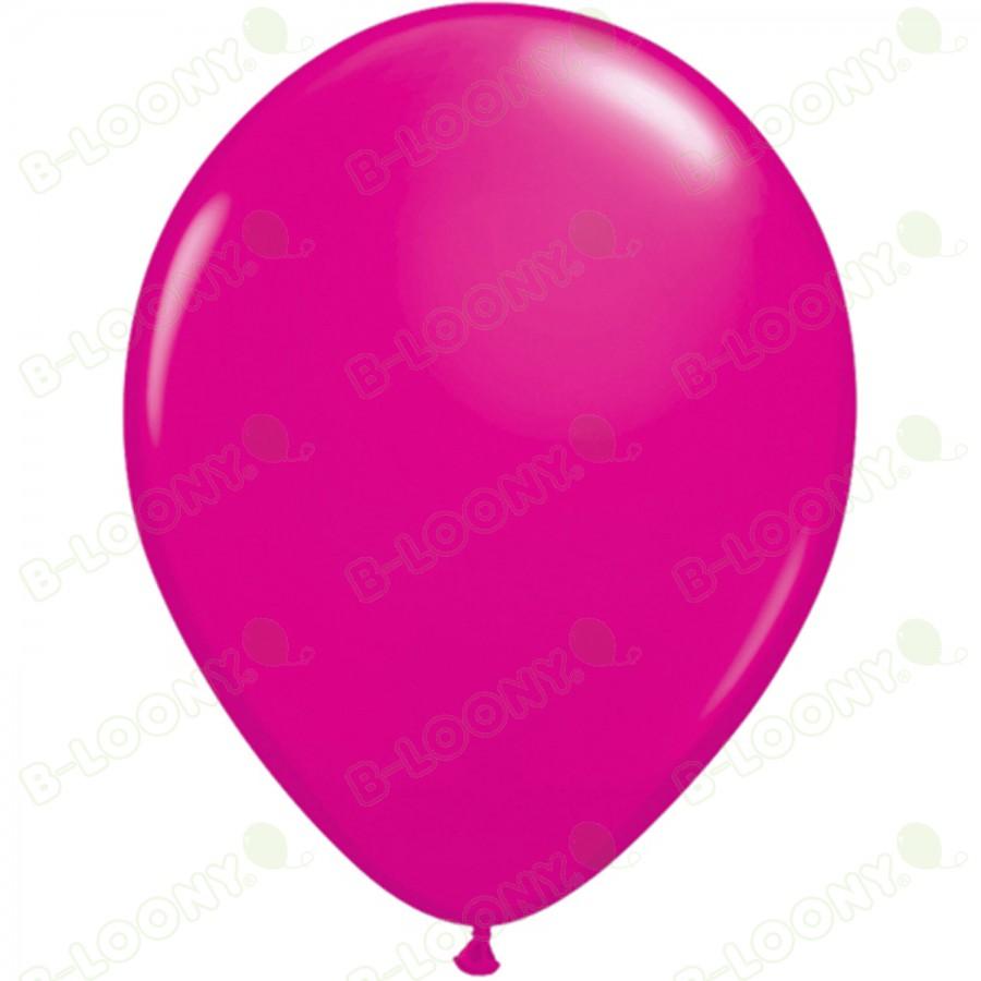 "5"" Latex Balloon Wild Berry (Pack of 100)"