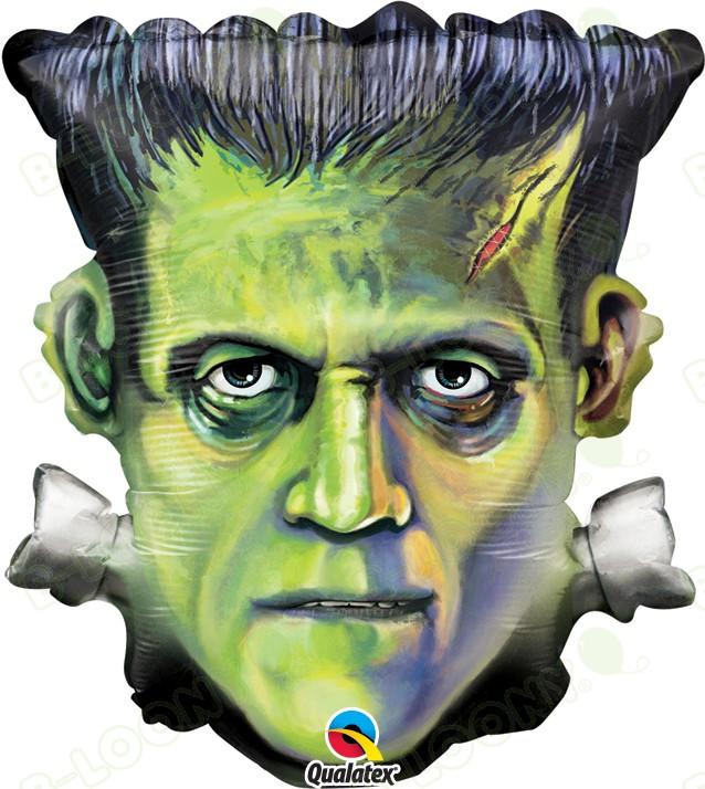 25 Inch Foil Balloon Frankenstein Head