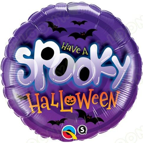 18 Inch Foil Balloon Spooky Halloween