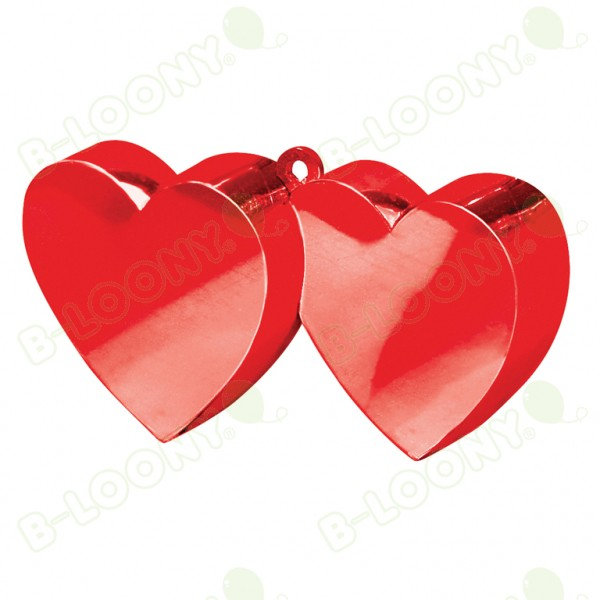 Red Double Heart Weight - 170g/6oz