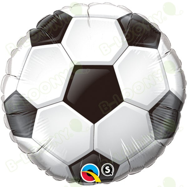 Qualatex 18 Inch Foil Balloon Soccer Ball